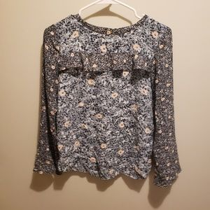 Loft xxsp floral blouse. Great condition.